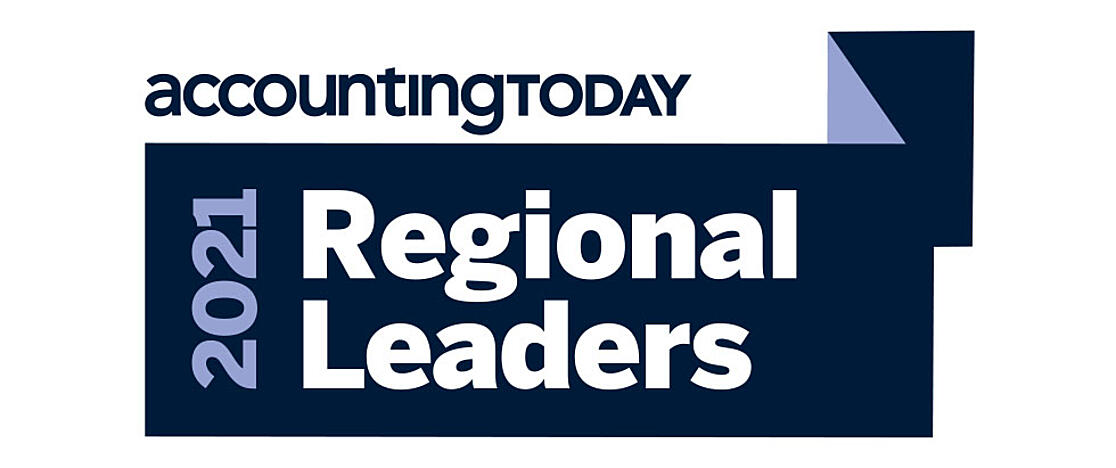 Accounting Today 2021 Regional Leader